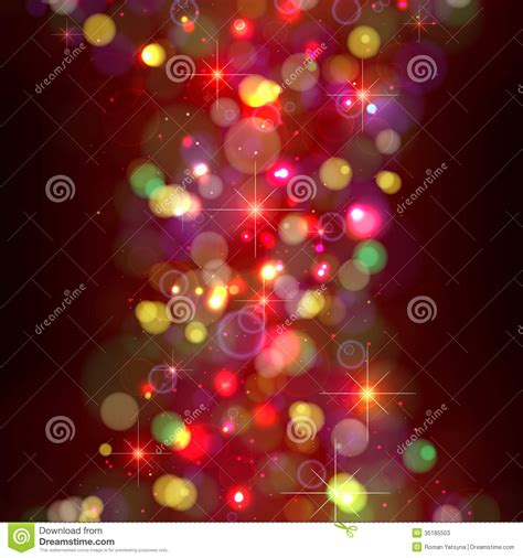 black colored christmas lights festive christmas background with lights stock vector