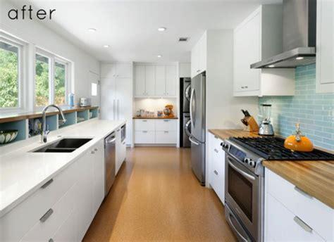 long narrow kitchen design galley kitchen designs