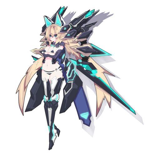 anime mecha mecha girl armoured by hakusuiren on deviantart