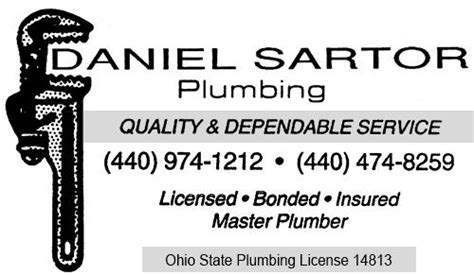 Ohio Plumbing Code by 21 List Of Plumbing In Ohio Dototday