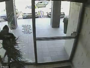 What Can Go Through The Green Glass Door by That S A Paneful Getaway Handbag Thief Smashes Through