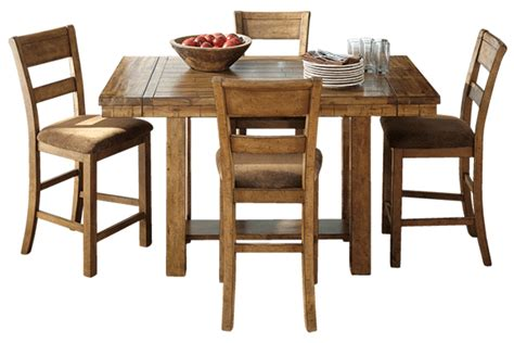 Pub Height Dining Room Sets by Krinden 7 Piece Counter Dining Set By Ashley Furniture