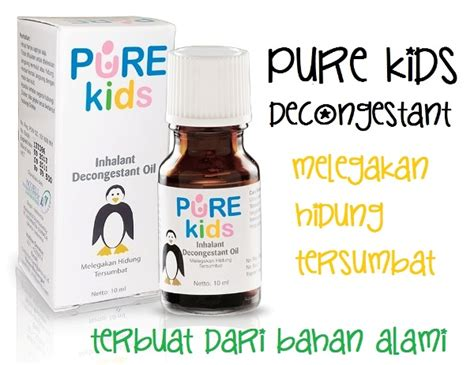 Obat Hidung Tersumbat Anak Inhalant Decongestant Bg0852cb inhalant decongestant yuki baby shop