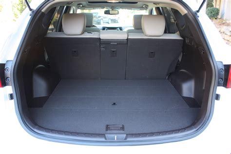 cargo space in hyundai santa fe 2014 hyundai santa fe sport luxury features affordable