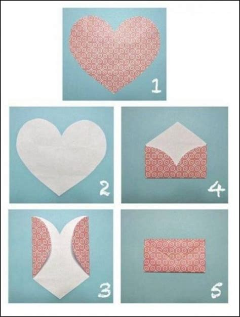 How To Make Paper Envelopes Step By Step - how to fold lovely envelope step by step diy