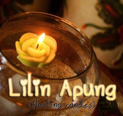 Lilin Souvenir Dekorasi Bentuk Bunga griya lilin souvenir lilin apung