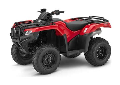 new 2018 honda fourtrax rancher 4x4 dct irs atvs in