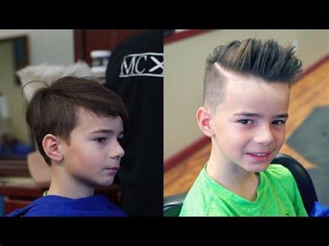 hairstyle tutorials boys kid s pompadour tutorial youtube
