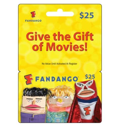 Fandango Gift Card - 25 fandango gift card 19 super hot swaggrabber