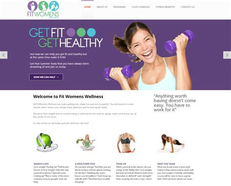 Sues Site With Personal Items by Personal Trainer Website Design Cheap Website Design