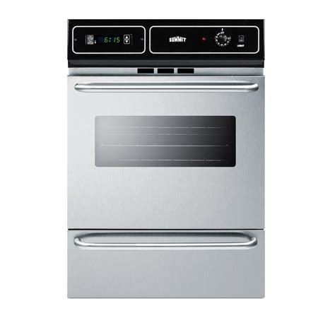 Jual Oven Gas Stainless by Summit Toys Summit 24 In Single Gas Wall Oven In