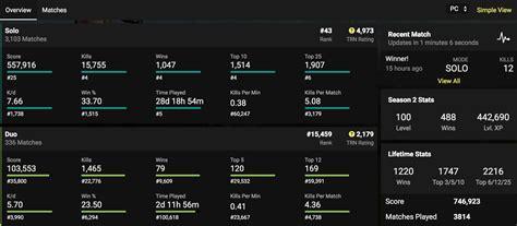 fortnite stat trackers websites apps