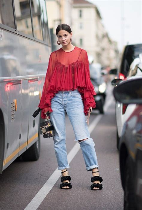 Top Nyc Fashion Blogs by How To Wear Hoop Earrings