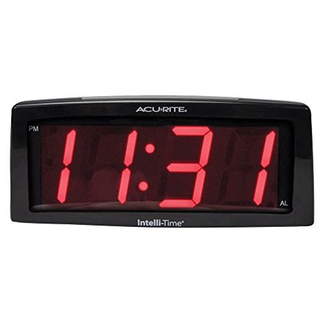 buy digital clock acurite 13003 7 inch digital alarm clock buy online in