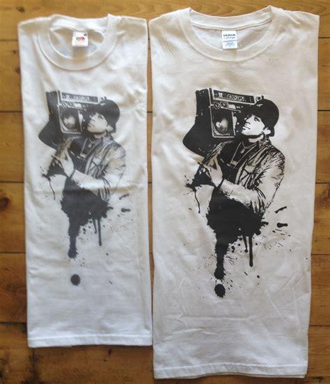 T Shirt Sox Black Dtg Digital Print gildan soft style t shirt barefacetees