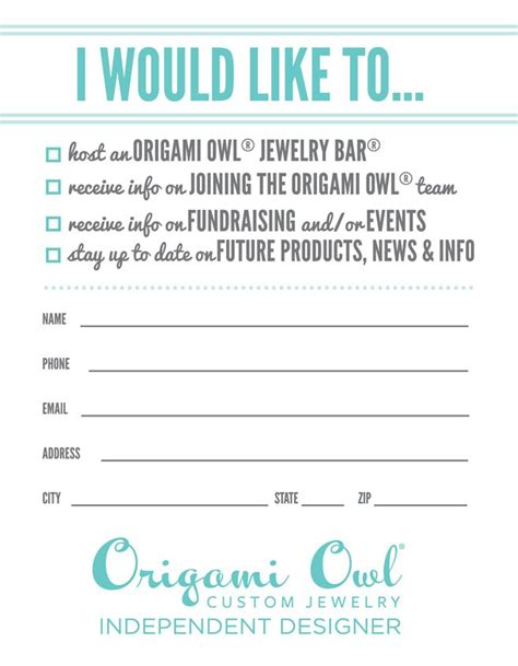 Origami Owl Customer Care - origami owl door prize search printables