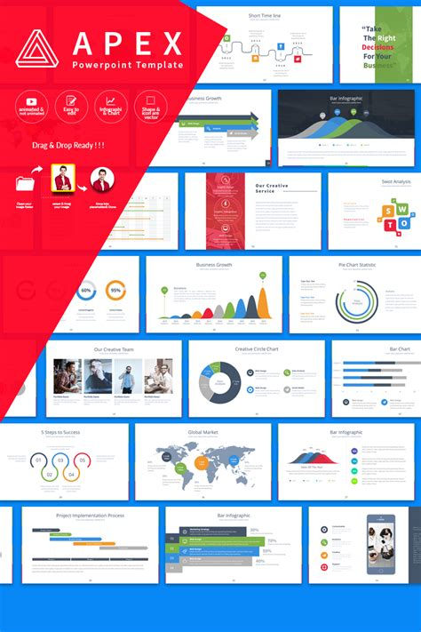 Apex Presentation Powerpoint Template 64792 Powerpoint Templates For Website Presentation