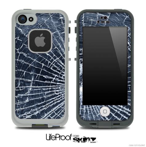 Casing Air Lifeproof Redpepper Galaxy Note 4 Promo Diskon Murah Baru cracked glass skin for the iphone 5 or 4 4s lifeproof