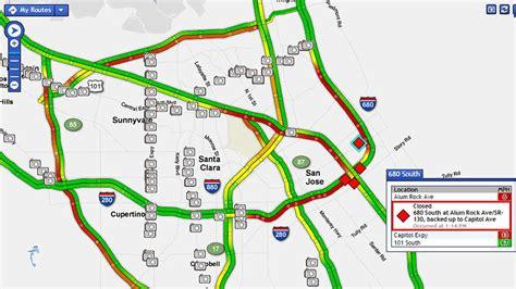 san jose traffic map all lanes reopen on sb i 280 at sb i 680 in san jose