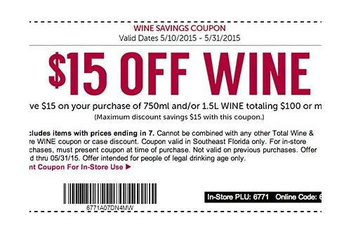 coupon total wine