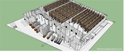 3d warehouse layout software warehouseblueprint warehouse visualization made simple