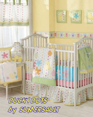 Duck Crib Bedding Set Baby Crib Bedding With Yellow Ducks