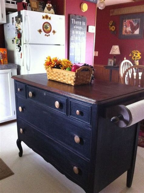 dresser kitchen island diy 25 best ideas about dresser kitchen island on