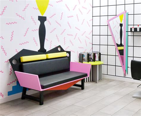 80s furniture hair salon interior design idea glorious 80s is back