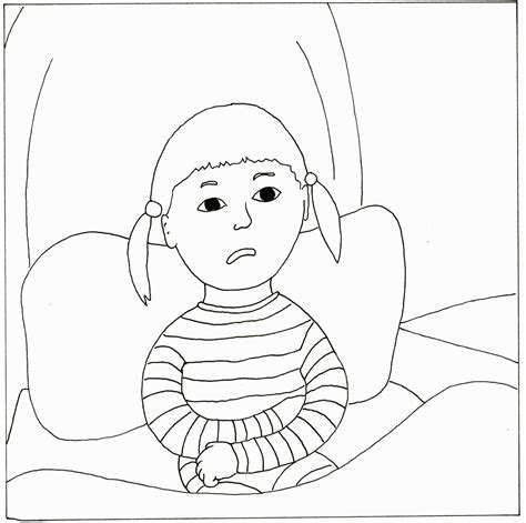 sick coloring page coloring home