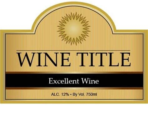 Wine Bottle Labels Template 17 best images about wine bottle labels on