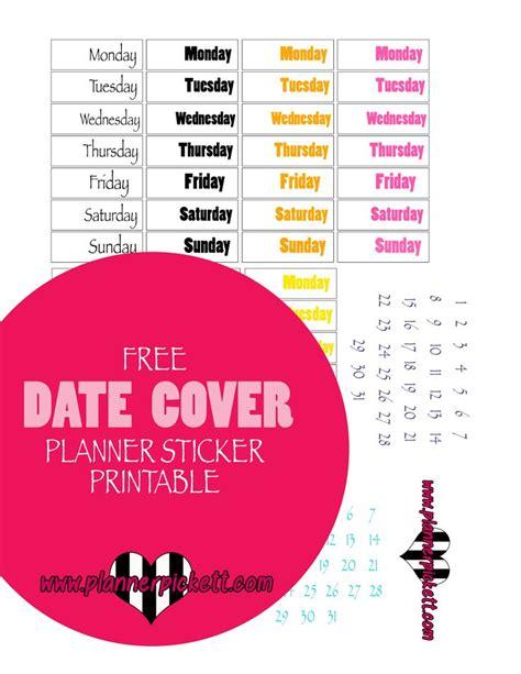 printable happy planner cover planner pickett free erin concern happy planner date