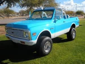 sell used 1972 chevy k5 blazer 4x4 restored rust free az