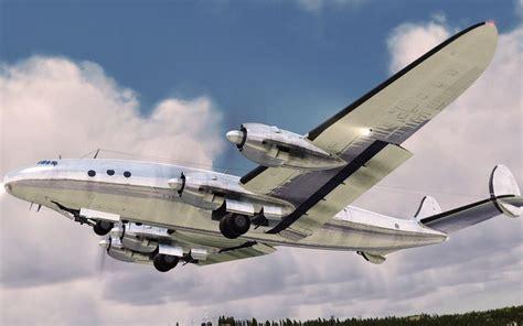 connie   constelation aa passenger jet constellations field