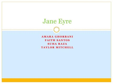 themes in jane eyre ppt ppt jane eyre powerpoint presentation id 1858177