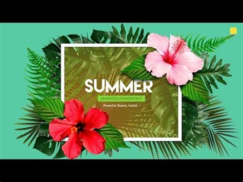 hawaiian powerpoint template hawaiian powerpoint template summer powerpoint bonus