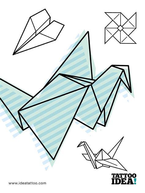 Designs Origami 2 - cool tattoos