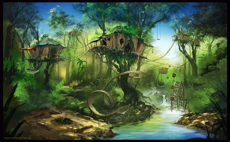 7 Lost House Arts by Treehouse Hideaway By Conceptgep On Deviantart