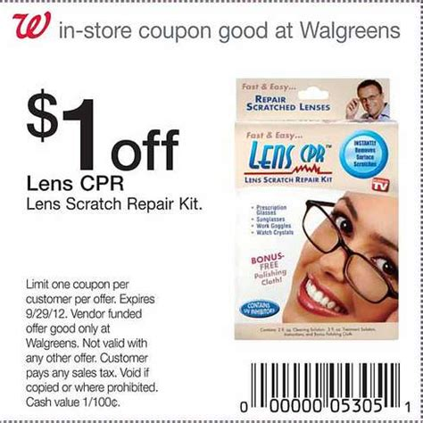 len discount walgreens 1 lens cpr printable coupon