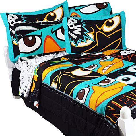 phineas and ferb bedding set the most bedding for boys