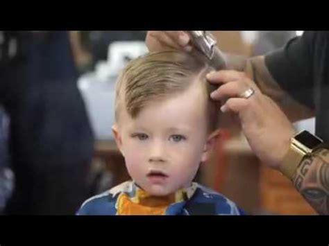 little boy comb over hairstyle fryzura dzieci 2016 kielce youtube