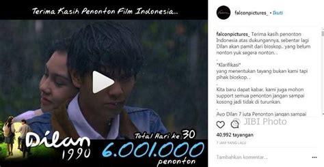 film dilan instagram film dilan raih 6 juta penonton penggemar cuitkan tagar