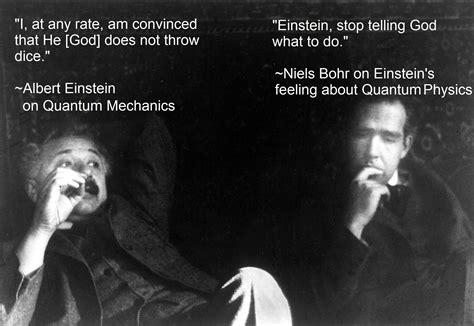 born vs einstein niels bohr vs albert einstein science humor and common