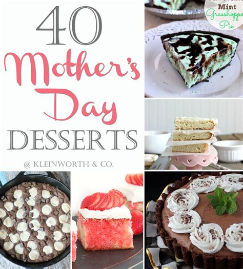 40 mother s day desserts kleinworth co