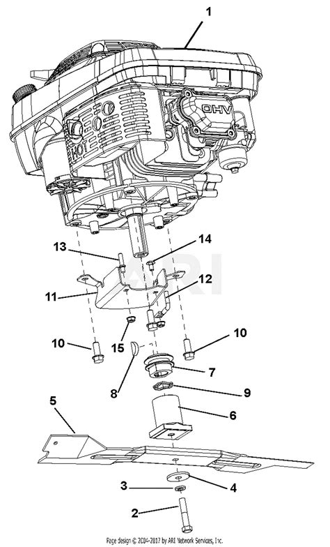 gravely   xd hp kawasaki recoil parts diagram  engine blade  belt