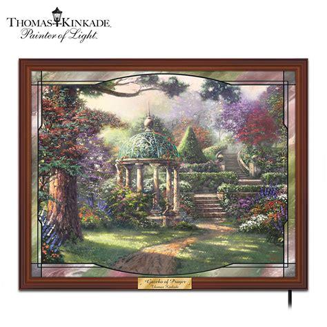bradford exchange home decor the bradford exchange thomas kinkade the garden of prayer