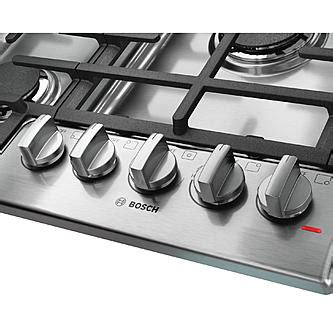 bosch 800 gas cooktop bosch ngm8055uc 30 quot 800 series gas cooktop stainless steel