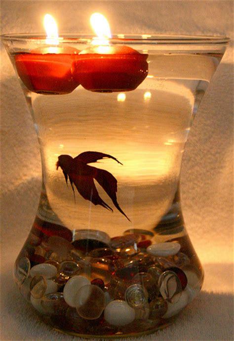 Fish Bowl Vase Centerpiece by Beta Fish Bowl Wedding Reception Centerpiece Flickr