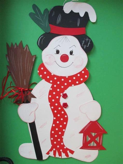 fensterbilder weihnachten kinder die besten 25 schneemann basteln tonkarton ideen auf