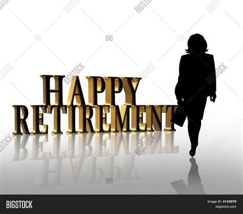 Powerpoint Template Retirement Party 3d Illustration For Ebedaxz Microsoft Powerpoint Templates Retirement