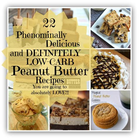 22 amazingly delicious low carb peanut butter recipes